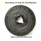 """Drive Brush 18"""" (Fits 20"""" Floor Machine)"""