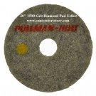 "20"" Diamond Polishing Pad 1500 Grit Marble, Terrazzo, Concrete Floors"