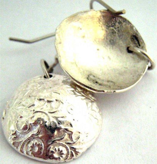 Patterned Bowl Earrings