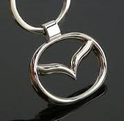 Chrome Mazda Keychain Brand New