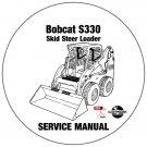 Bobcat Skid Steer Loader S185 Service Repair Manual 530360001-530460001- ABRT60001 CD