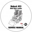 Bobcat Skid Steer Loader 453 Service Repair Manual CD