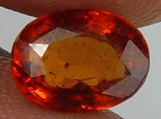 2.00CT 100% Natural Ceylon Hessonite Garnet 09102475