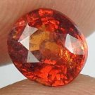 HESSONITE GARNET Natural 2.40 CT 8.10 X 7.15 MM Gem for Vedic Astrology 12121119