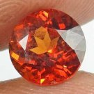 HESSONITE GARNET Natural 2.10 CT 7.72 MM Round Gem for Vedic Astrology 12121169