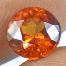 HESSONITE GARNET Natural 1.60 CT 7.11 MM  Round Cut Unheatead Loose Gem 12121154