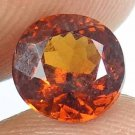 HESSONITE GARNET Natural 2.30 CT 7.73 MM Round Gem for Vedic Astrology 12121143