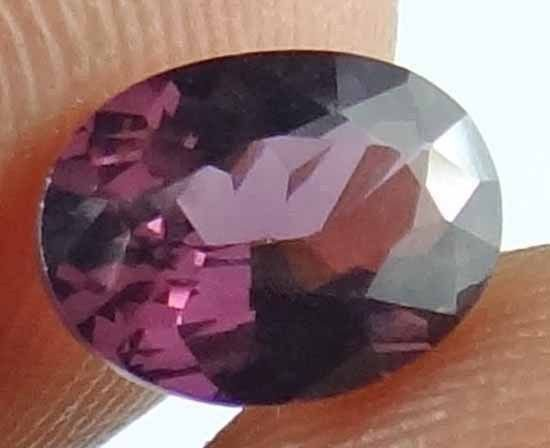 SPINEL Natural 1.4 CT 8.18 X 5.99 MM Maroon Red Color Unheated Gemstone 12111505