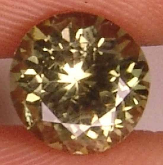 Kornerupine 1.55CT Round Natural Gem For Ring 11032526