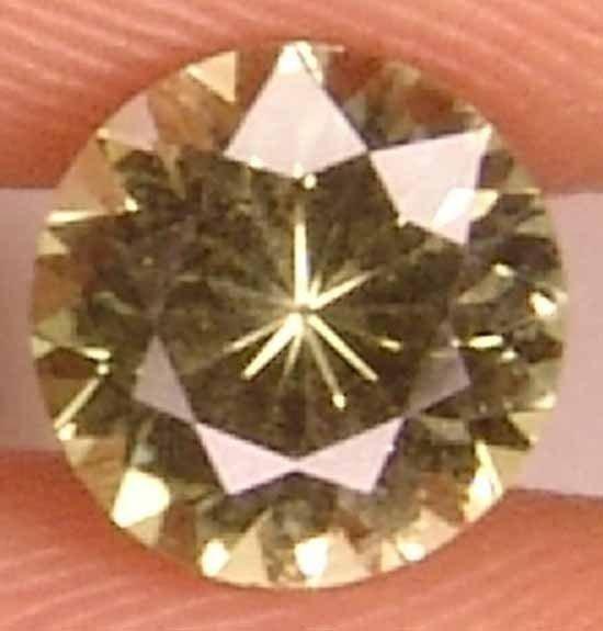 Kornerupine 1.05CT Well Cut Round Gem For Ring 11032527