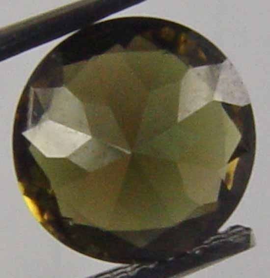 Rare Round Cut Natural Unheated Kornerupine 1.65 Cts Faceted Loose Gem 12012236