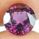 SPINEL Natural 1.20 CT 6.69 MM Magenta Red Round Cut Loose Ring Stone 13071449