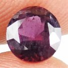 SPINEL Natural 1.20 CT 6.42 MM Magenta Red Rare Round Loose Ring Stone 13071450