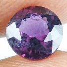 SPINEL Natural 1.20 CT 6.53 MM Magenta Purple Rare Round Cut Gemstone 13071452