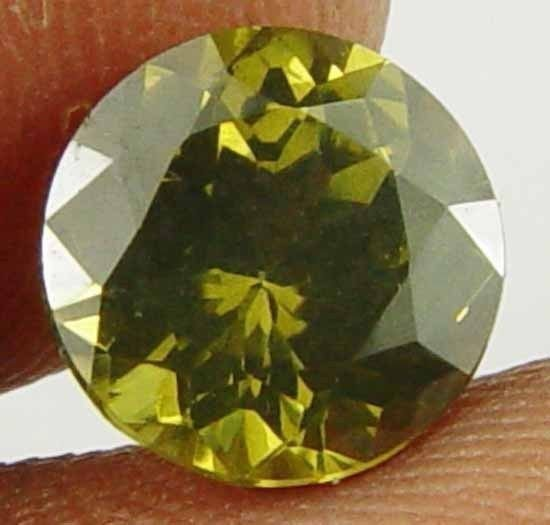 2.30Ct Glowing Natural Round Zircon for Ring 11031859