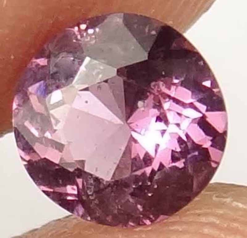 SPINEL Pink Gorgeous Color Natural 0.95 CT 6.10 MM Rare Round Cut Gem 12030597