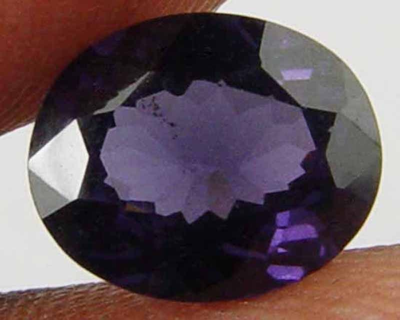 SPINEL Natural 1.75 CT 8.55 X 7.01 MM Purple Color Oval Cut Loose Gem 10051481