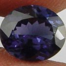 SPINEL Natural 1.60 CT 8.04 X 6.87 MM Blue Purple Oval Cut Gemstone 10051491