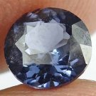 SPINEL Natural 1.30 CT 6.64 MM Blue Purple Color Rare Round Cut Gem 12111877