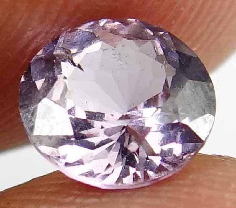 SPINEL Natural 1.10 CT 6.55 MM Nice Light Purple Color Rare Round Gem 12111890