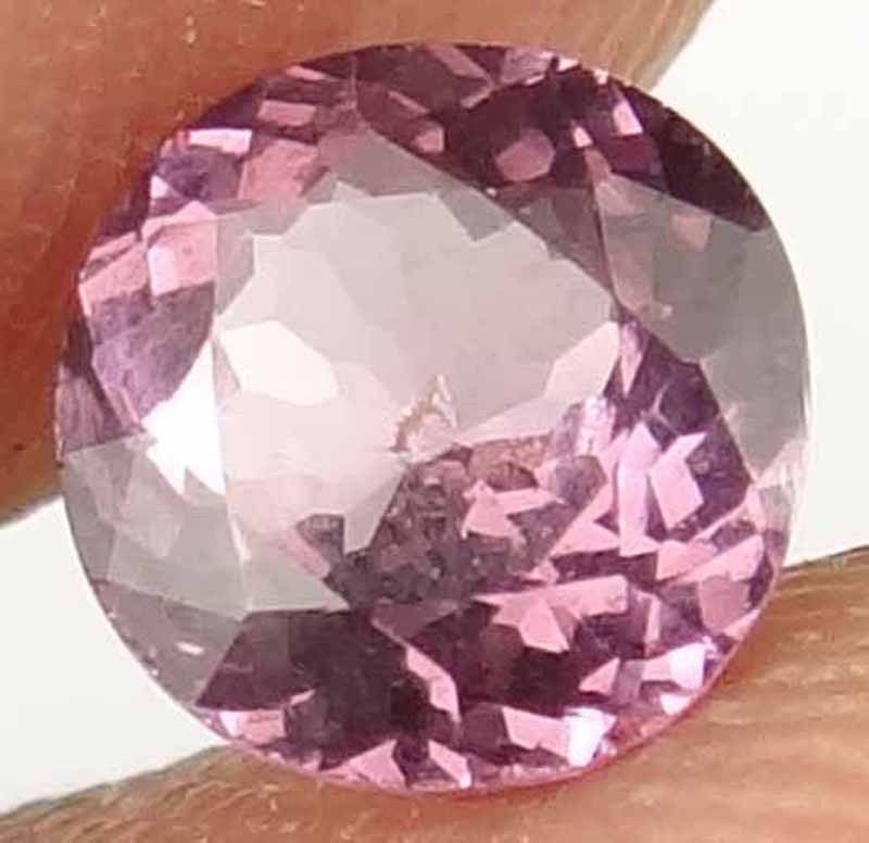 SPINEL Natural 0.85 CT 6.15 MM Nice Color Rare Round loose Ring Stone 12030551