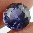 SPINEL Blue Round Natural 1.20 CT  6.25 MM Beautiful Loose Ring Stone 12111872