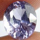 SPINEL Natural 1.15 CT 6.66 X 5.6 MM Lavender Color Untreated Gemstone 12111815
