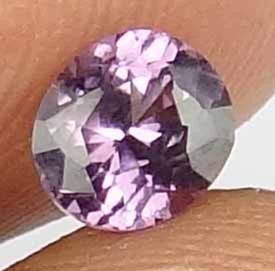 SPINEL Natural 1.05 CT 6.24 X 5.58 MM Gorgeous Color Untreated Gemstone 12112530