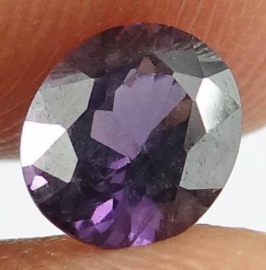 SPINEL Natural 1.15 CT 6.69 X 5.82 MM Nice Color & Luster Untreated Gem 12111582