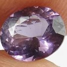 SPINEL Natural 1.50 CT 7.78 X 6.48 MM Nice Purple Glow Untreated Gem 12111575