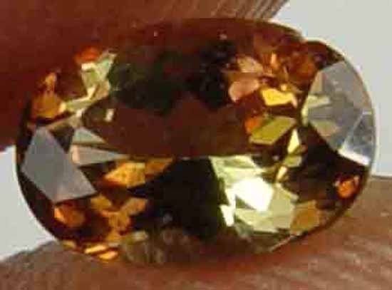 0.65CT 100% Natural Glowing Rare Andalusite 10051051