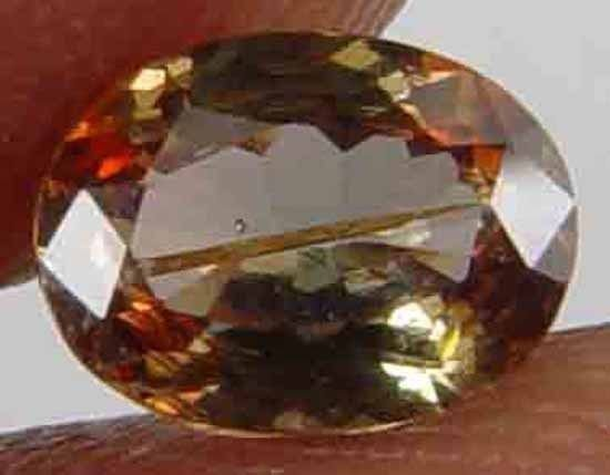 0.60CT 100% Natural Ultra Rare Andalusite 10051040