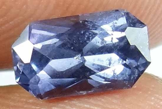 SPINEL Natural 1.45 CT 8.68 X 5.05 MM Untreated Well Cut Blue Color Gem 13020528