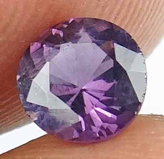 SPINEL Natural 0.95CT 6.07 MM Rare Round Cut Beautiful Loose Ring Stone 13021243