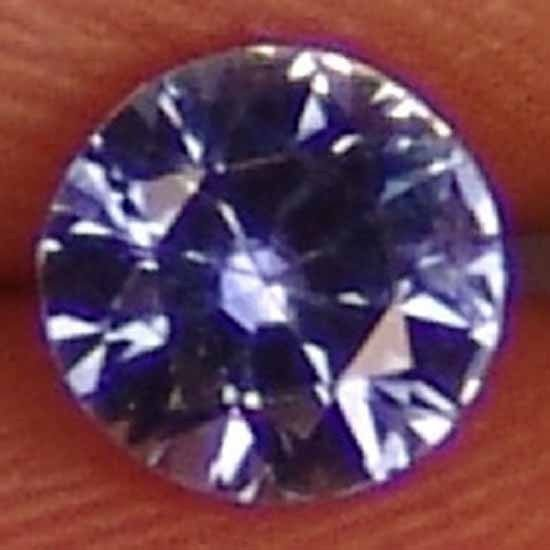 SAPPHIRE Natural 0.45 CT Soft Sky Blue Round Cut Ring Stone 11011562