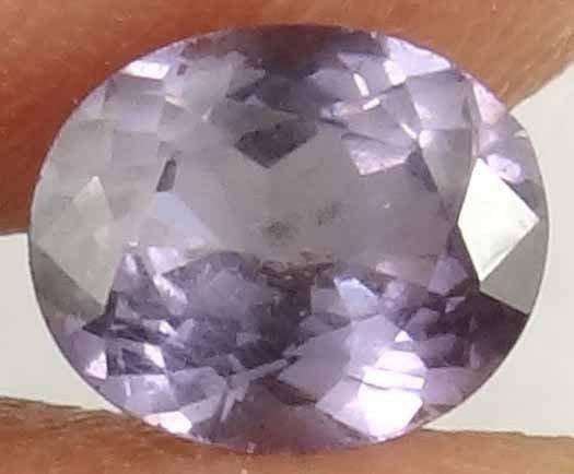 SPINEL Natural 1.05 CT Purple Gray Color Untreated Faceted Gemsotne 12030859