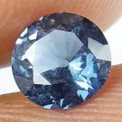 SPINEL Natural 0.90 CT 6.17 MM Rare Round Cut Blue Color Untreated Gem 13021868