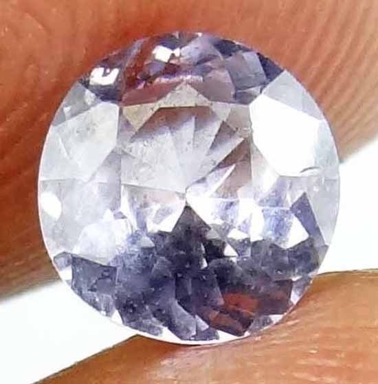 SPINEL Natural 1.05 CT 6.49 MM Round Cut Beautiful Lavender Color Gem 13021278