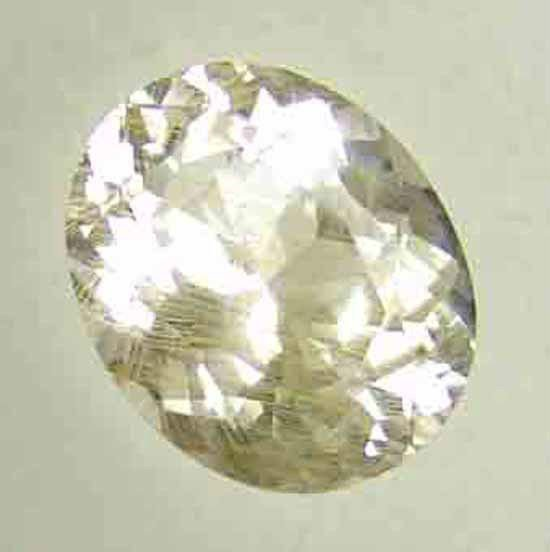 14.75CT Natural Topaz with Nice Thin Rutiles 10051709