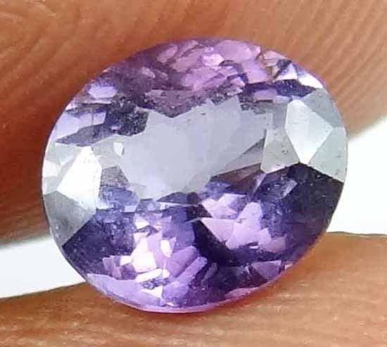 SPINEL Natural 1.35 CT 7.03 X6.10 MM Untreated Gorgeosu Purple Gemstone 13022548
