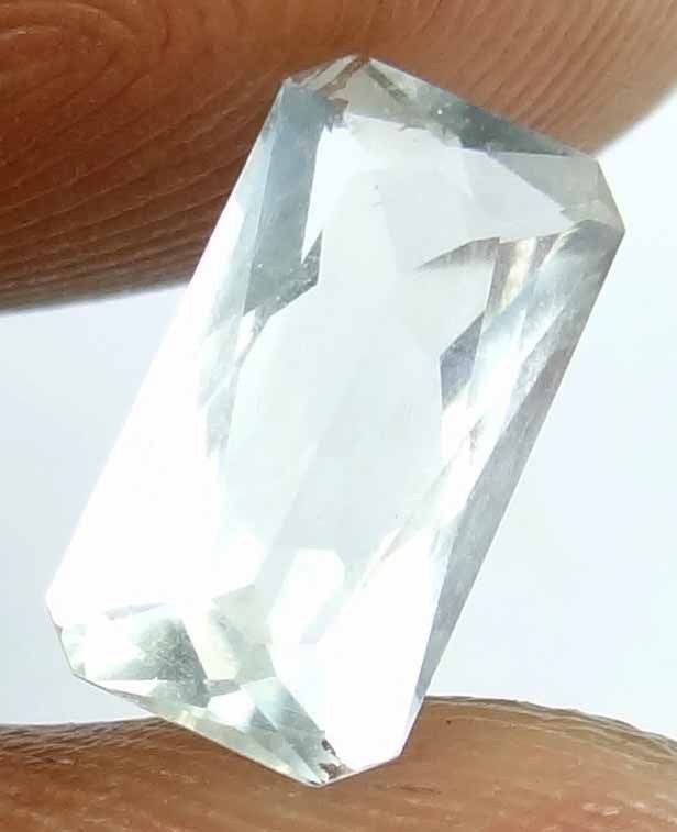 MOONSTONE Natural 1.75 CT 10.83 X5.86 MM Faceted Long Octagon Untreated 13022530