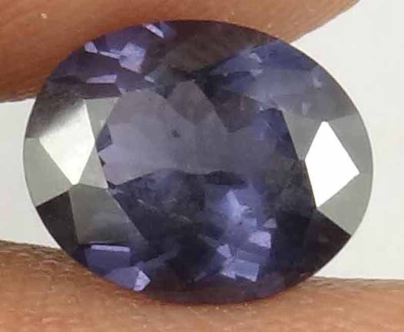 SPINEL Natural 2.00 CT 8.81 X 7.21 Nice Purple Color Well Cut Oval Gem 12030828