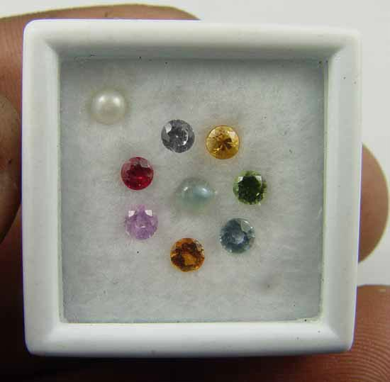 1.25CT Sri Navaratna The 9 Gems for 9 Planets 10081590