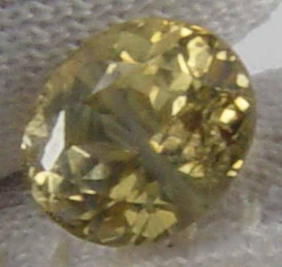Unheated Natural Chrysoberyl 1.00 Ct 6.19 x 5.29 MM Gemstone 12012537
