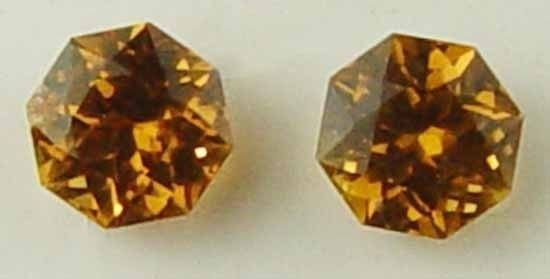 Gorgeous Pair for Earings 1.0Cts Rare Natural Imperial Hessonite Garnet 11053035