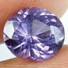 SPINEL Natural 1.60 CT 7.43 X 6.61 MM Nice Purple Glow Untreated Gem 13021852