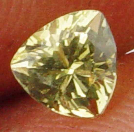 Stunning Trillion 0.50Cts Gorgeous Natural Chrysoberyl 11052140