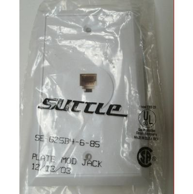 Lot of 25 Suttle Simplex Textured Flush Mount Assembly SE-625B4-6-85 White