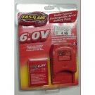 Fastlane R/C 6.0V Radio Control Rechargeable Ni-Cd Battery Pack, 5 Hour Quick Charger