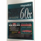 Magnetics 60x Type I Normal Position IEC I 60 Min Audio Cassette